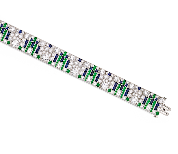 City skyline bracelet by Tiffany & Co. (Sotheby's)