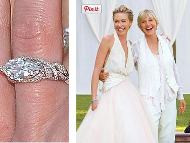 Perfect Portia De Rossi And Ellen DeGeneres Wedding Idea