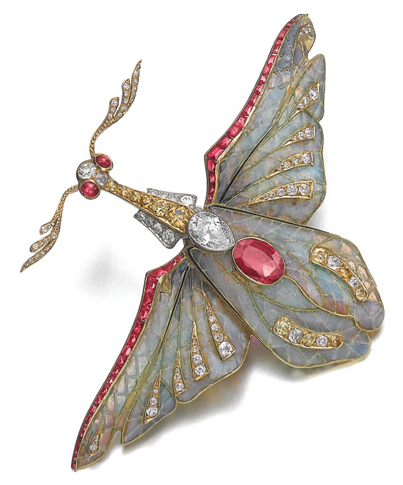 Philippe Wolfers brooch, c. 1900