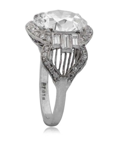 Art Deco diamond ring, c. 1920