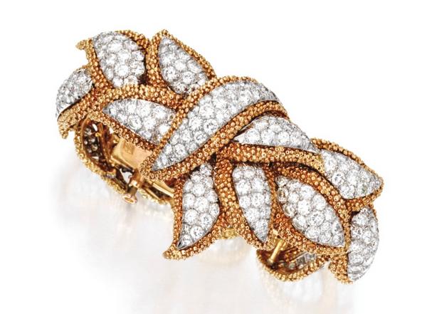 Marianne Ostier diamond bracelet