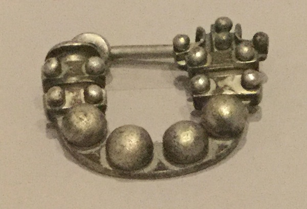 Silver fibula, late 8th-7th century, Turkey