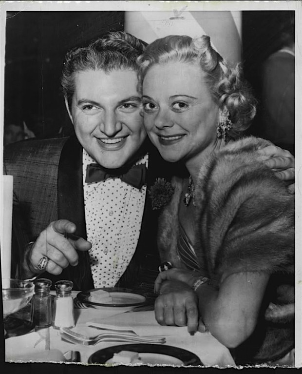 Sonja Henie and Liberace