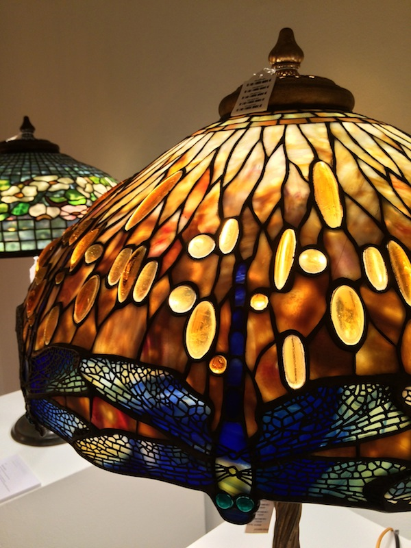 Tiffany dragonfly lamp (photo Cathleen McCarthy / The Jewelry Loupe)