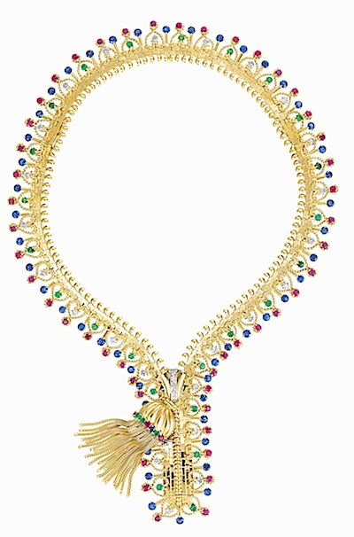 Van  Cleef & Arpels Zip necklace, 1951 (Van Cleef & Arpels collection)