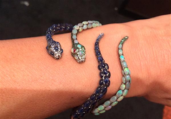 Wendy Yue snake bracelets