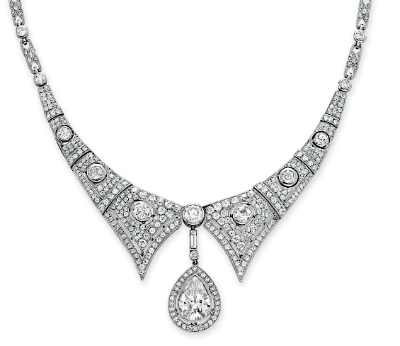 catalog diamond necklace