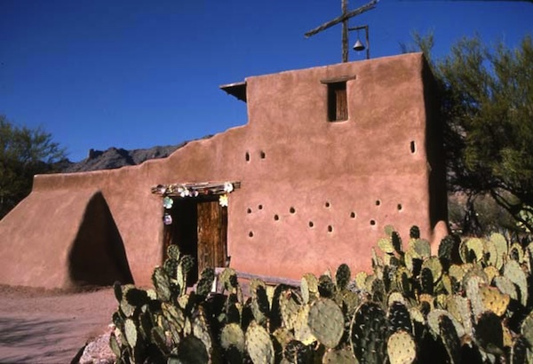 DeGrazia Chapel in Tucson AZ (photo Cathleen McCarthy)