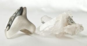 ortho ring silber zijkant 1