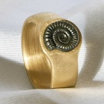 Hendrik Hackle gold ring
